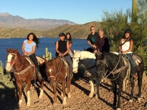 horseback riding in Phoenix