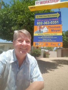 Tom Mayer, Phoenix Realtor