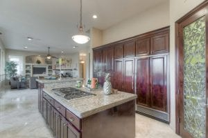 Luxury Ahwatukee gourmet kitchen